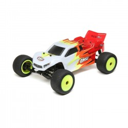 Losi Mini-T 2.0 2WD Stadium Truck RTR 1/18, Red/White