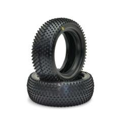 U6607 Schumacher Mini pin tires front 4wd Yellow Schumacher RSRC