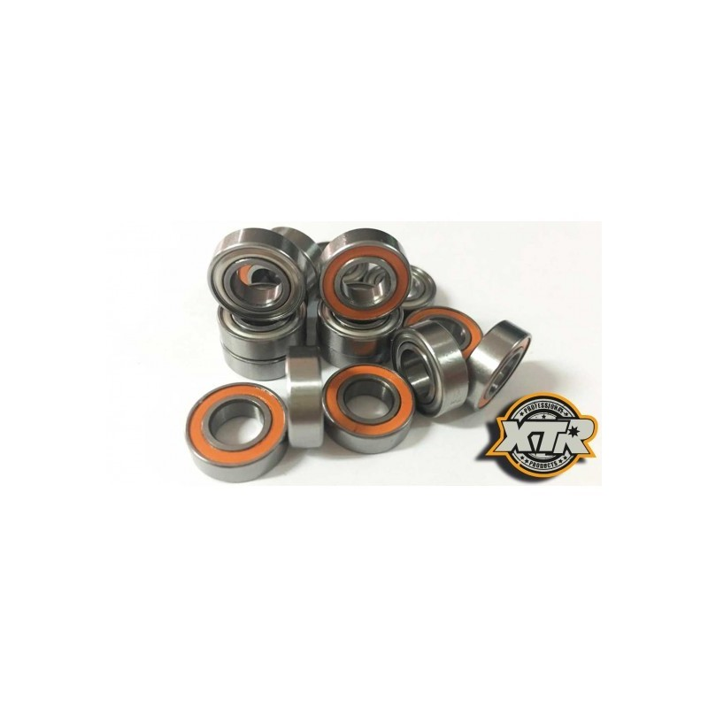 COMPLETE SET BEARINGS FOR ASSOCIATED RC8B3