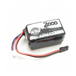 XTR-0209 Batterie XTR type carré LIFE 6,6V 2000 Mah 30,9X32X56 XTR RSRC