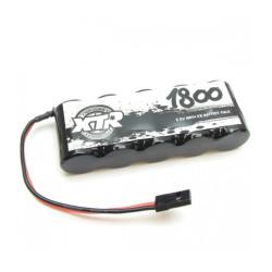 XTR BATTERY RECEIVER FLAT MiMh 6v 1800 Mah