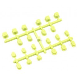 IF442KY BAGUES DE SUSPENSION INFERNO MP9 (JAUNE) IF442KY Kyosho RSRC