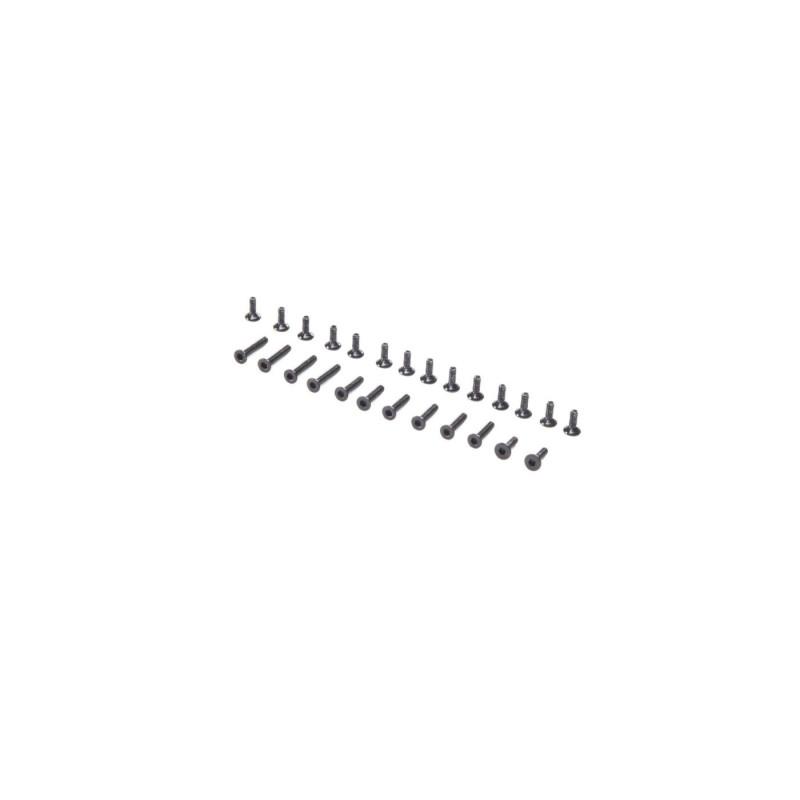 Screw Set, Flat Head: Mini-T 2.0 LOS216004