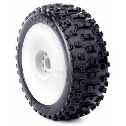 14010XRW MOTO (SOFT - LONG WEAR)   PRE-MOUNTED ON EVO WHEELS 14010XRW AKA RSRC