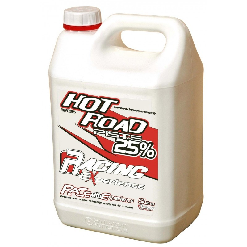 REF0525T Carburant RACING FUEL HOT ROAD GT 25% 5 LITRES Racing Experience RSRC