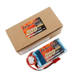 Gens ace Battery LiPo 2S 7.4V-800-40C(JST) 61x30x15mm 48g GE1-0800-2J