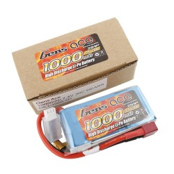 Gens ace Battery LiPo 2S 7.4V-1000-30C(Deans) 76x37x13mm 70g GE1-1000-2D