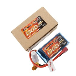 Gens ace Battery LiPo 2S 7.4V-1300-30C(Deans) 75x34x15mm 85g GE1-1300-2D