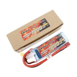 Gens ace Battery LiPo 2S 7.4V-1800-40C(Deans) 96x31x19mm 110g GE1-1800-2D
