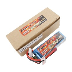 Gens ace Battery LiPo 3S 11.1V-2200-30C(Deans) 108x33x22mm 175g GE1-2200-3D