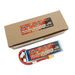 Gens ace Battery LiPo 3S 11.1V-2200-30C(XT60) 108x33x22mm 175g GE1-2200-3X