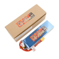 Gens ace Battery LiPo 4S 14.8V-2500-30C(XT60) 142x42x22mm 270g GE1-2500-4X