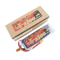 Gens ace Battery LiPo 3S 11.1V-3300-30C(XT60) 138x42x21mm 250g GE1-3300-3X