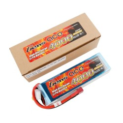 Gens ace Battery LiPo 3S 11.1V-4000-30C(Deans) 137x43x23mm 290g GE1-4000-3D