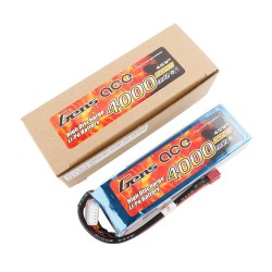 Gens ace Battery LiPo 4S 14.8V-4000-30C(Deans) 142x42x32mm 370g GE1-4000-4D