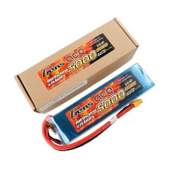Gens ace Battery LiPo 5S 18.5V-5000-60C(XT60) 165x46x39mm 580g GE1-5000-5X