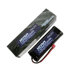 Gens ace Battery NiMh 7.2V-1500Mah (Deans) 135x48x25mm 242g GE2-1500-1D