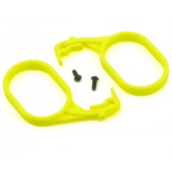 LOSB5011 Fuel Tank Lid Pull Set (Fluorescent Yellow) (2)