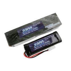 GE2-2200-1TA Gens ace Batterie NiMh 7.2V-2200Mah (Tamiya) 135x48x25mm 290g GE2-2200-1TA Gens ace RSRC