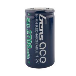 GE2-2700 Gens ace Batterie NiMh 1.2V-SC2700Mah Element seul 43x21mm 48g GE2-2700 Gens ace RSRC