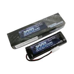 GE2-3000-1TA Gens ace Batterie NiMh 7.2V-3000Mah (Tamiya) 135x48x25mm 350g GE2-3000-1TA Gens ace RSRC