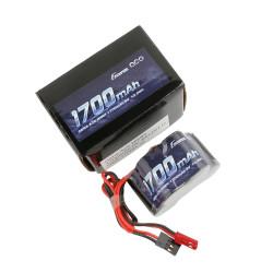 GE6-1700H-JJ Gens ace Batterie Rx NiMh 6.0V-1700Mah (Dual JR-JST) 125g - Hump GE6-1700H-JJ Gens ace RSRC