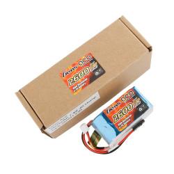 GE6-2600H-2JR Gens ace Batterie Rx LiPo 2S-7.4V-2600 (JR plug) 96g - Hump GE6-2600H-2JR Gens ace RSRC