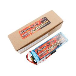 GE6-2600S-2JR Gens ace Batterie Rx LiPo 2S-7.4V-2600 (JR plug) 92g - Straight GE6-2600S-2JR Gens ace RSRC
