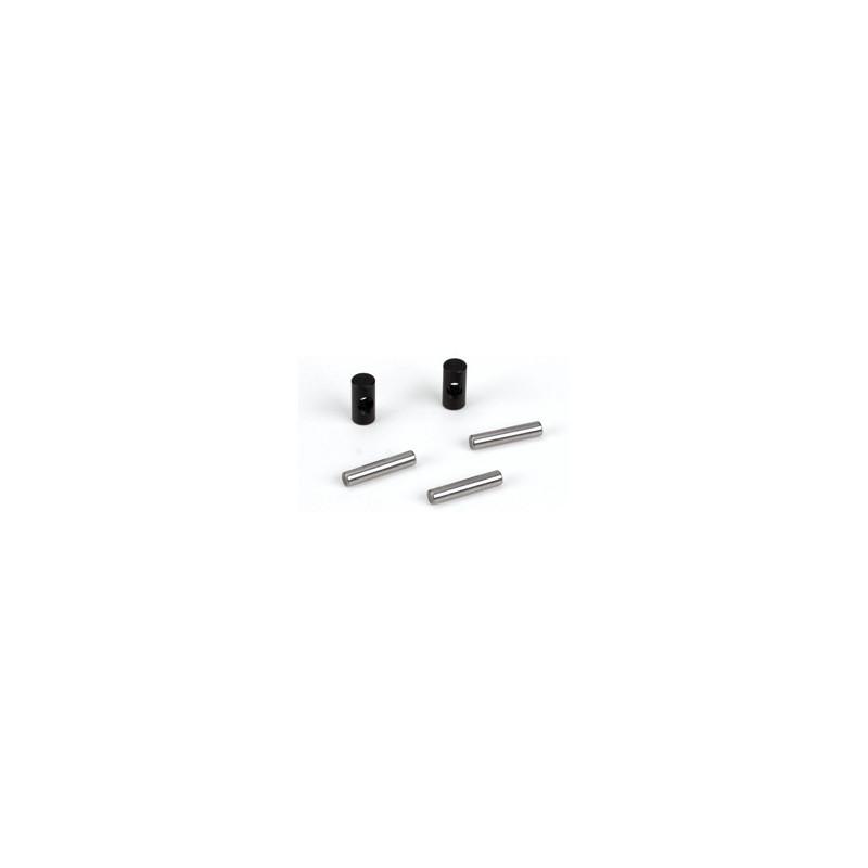 LOSA3523 LOSA3523 F/R CV Driveshaft Coupling Set: 8B,8T Losi RSRC