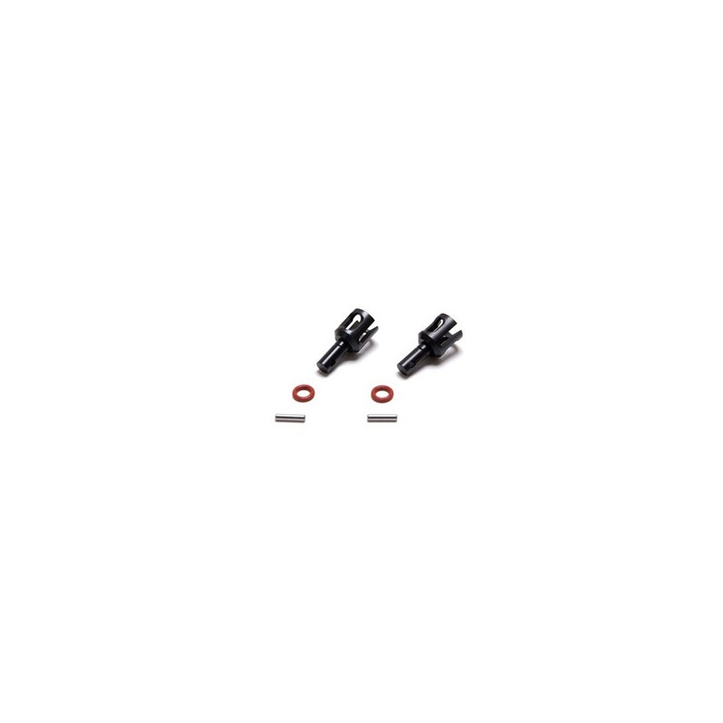 LOSA3553 LOSA3553 Front/Rear HD Lightened Outdrive Set (2): 8B, 8T Losi RSRC