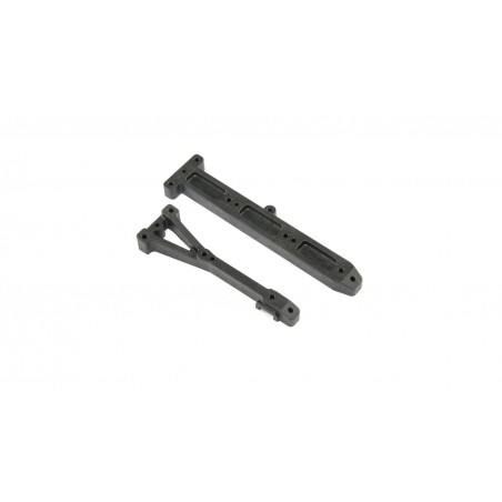 Chassis Brace Set: 22X-4 TLR231087