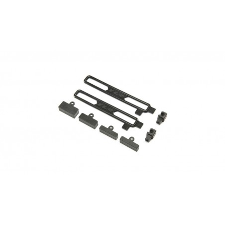 Battery Mount Set: 22X-4 TLR231092