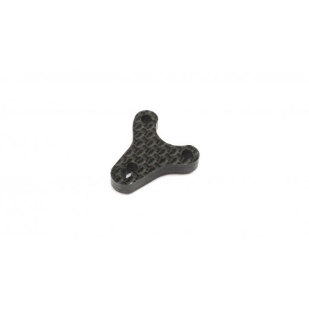 Carbon Bell Crank Plate: 22X-4 TLR231095