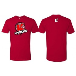 KYOSHO T-Shirt K-Circle Red -4XL 88008-4XL
