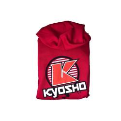Kyosho Hoodie K-CIRCLE Red (3XL-size) 88007-3XL