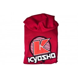 88007-3XL Kyosho SWEAT CAPUCHE K-CIRCLE ROUGE (3XL) 88007-3XL Kyosho RSRC