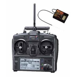 101A32071A RADIO SANWA EXZES ZZ + RECEPTEUR RX472 101A32071A Sanwa RSRC