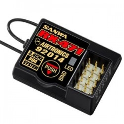 107A41111A RECEPTEUR RX-471 4 VOIES 2,4GHZ FH4/3  107A41111A Sanwa RSRC