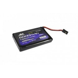 AM700995 ARROWMAX LIPO M17 TX 6000  (3.7V) LIPO BATTERY  AM700995 Sanwa RSRC