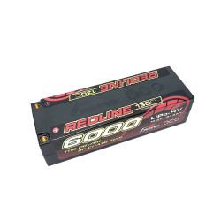 Gens ace Batterie LiPo 4S HV 15.2V-130C-6000 (5mm) 139x47x37mm 450g