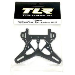 Support amortisseurs arrière aluminium noir 8X/8XE TLR244062 TLR244062 Team Losi Racing RSRC