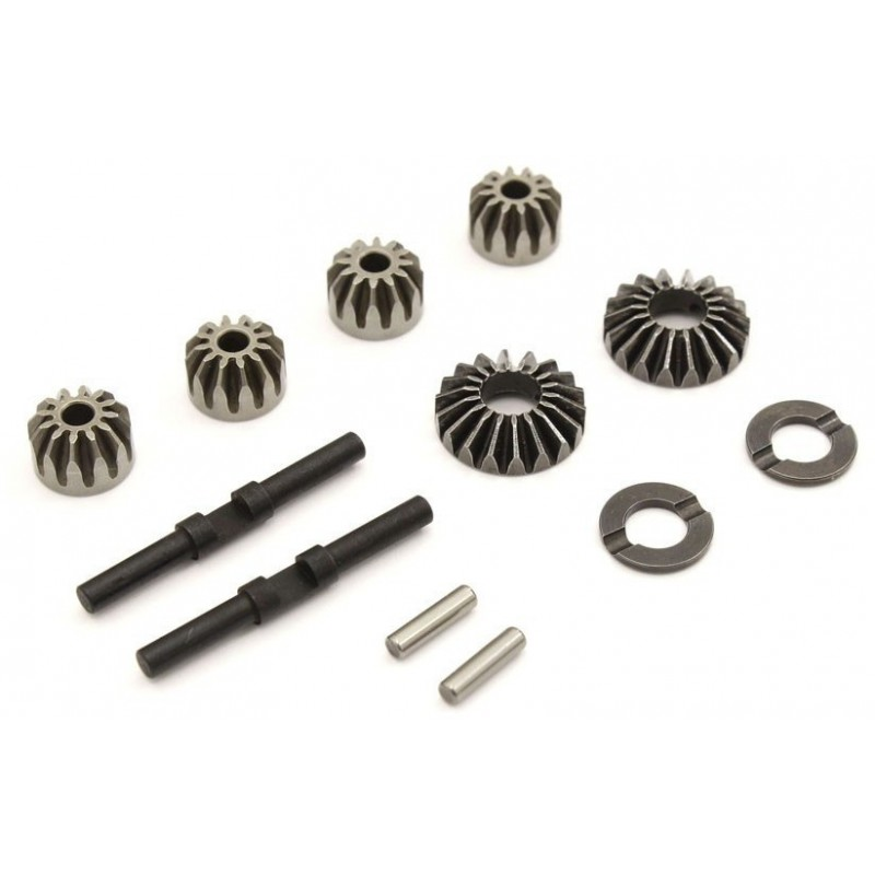 DIFFERENTIAL STEEL BEVEL GEAR SET (12T-18T CTR) INFERNO MP9-MP10 IFW622