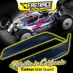 FR800KY Carbon fiber side guards for Kyosho MP10/MP9 Fastrace RSRC