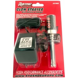Glow igniter for nitro engine with charger B7004
