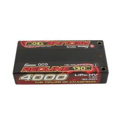 GE4RL-4000H-2ULCG LiPo 2S Battery HV 7.6V-130C-4000 GE4RL-4000H-2ULCG Gens ace RSRC
