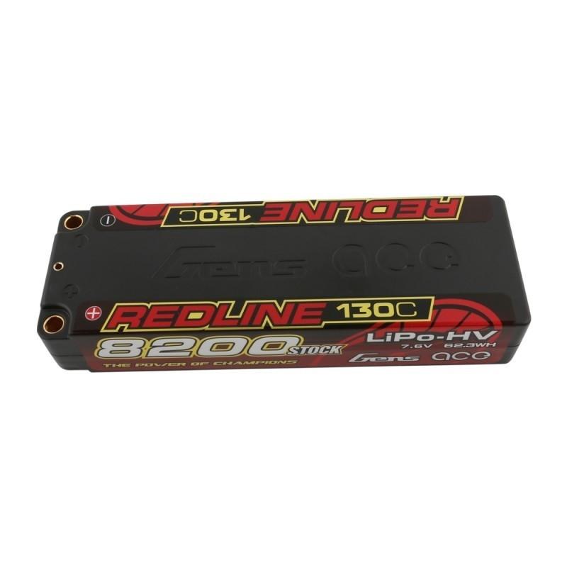 GE4RL-8200H-2T5 Batterie LiPo 2S HV 7.6V-8200-130C GE4RL-8200H-2T5 Gens ace RSRC