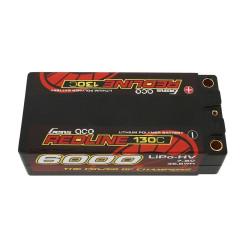 GE4RL-6000H-2T5S Batterie LiPo 2S HV 7.6V-130C-6000 GE4RL-6000H-2T5S Gens ace RSRC