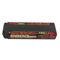 GE4RL-5800H-2T5 LiPo 2S Battery HV 7.6V-130C-5800 GE4RL-5800H-2T5 Gens ace RSRC