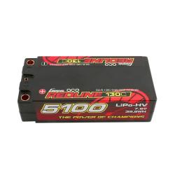 GE4RL-5100H-2T5S Lipo Battery 2S-7.6V-130C-5100 Shorty GE4RL-5100H-2T5S Gens ace RSRC
