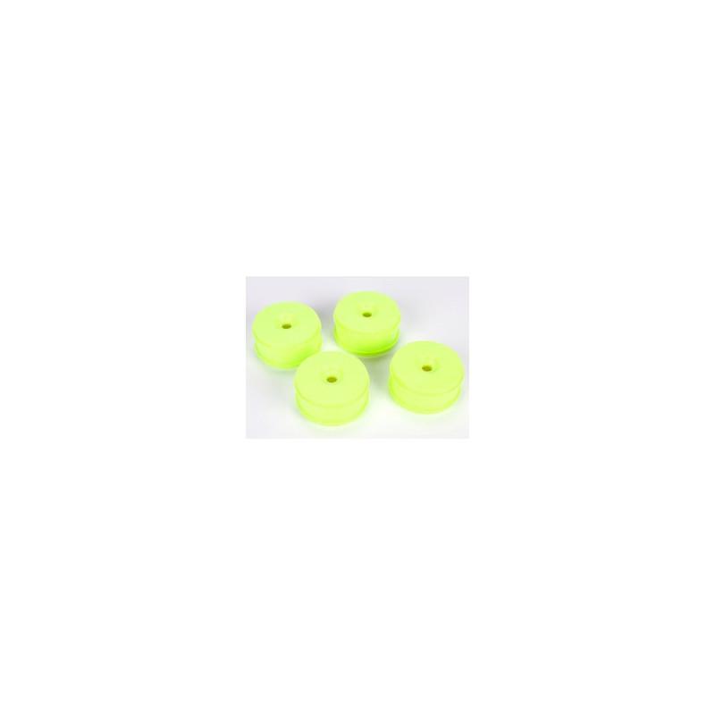 Jantes TLR 1/8 83mm, Jaunes (4): 8B 3.0 TLR44000